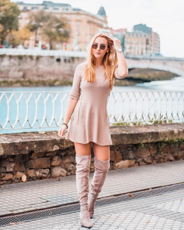 Ideal dress and ideal boots from ZAFUL