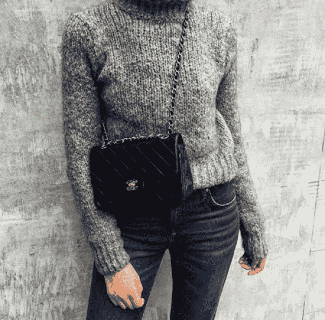 Turtleneck Heathered Pullover Sweater !!!