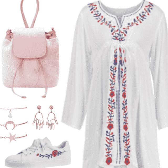 Women Bohemian Outfit