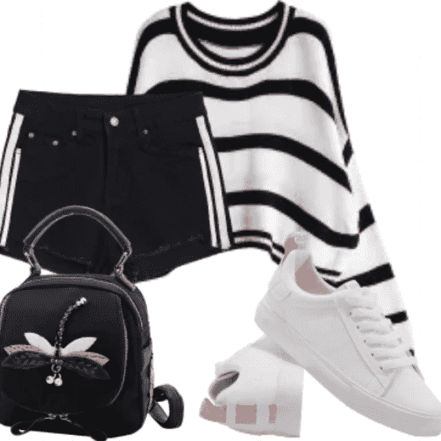 Be different with this combination. Great style only with ZAFUL.  So stylish and lovely stuff for fashion girl…