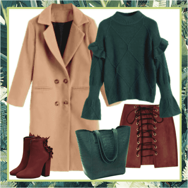 Lovely color-combination is also ultra modern, so you can wear it to the work, to the city, even g…