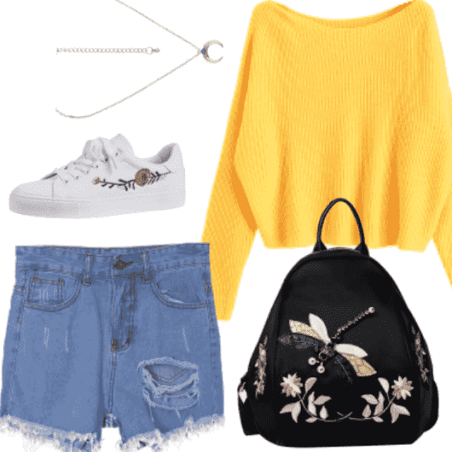 Adorable outfit for weekend!
