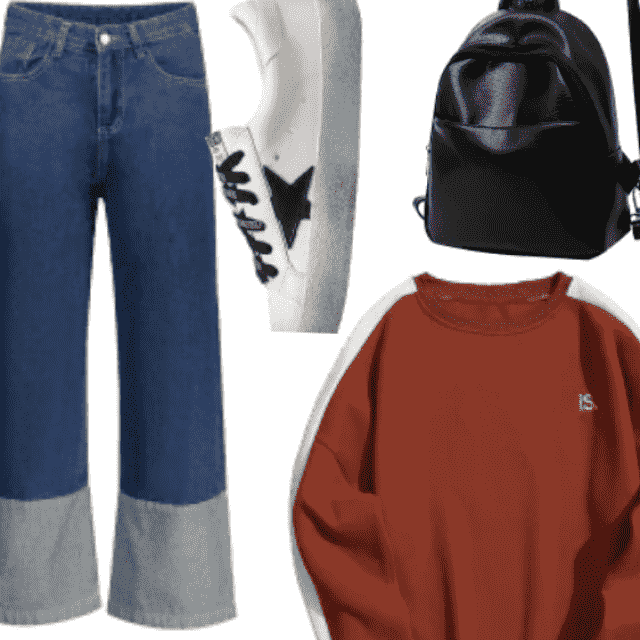 Casual Cool Look , Compfy Everyday Look , Go To Look