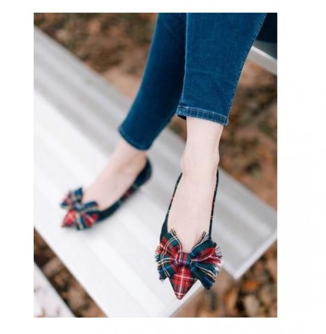 Flats that has little bows on them, I've never had one and I am so tempted to get this one. its way too cute!