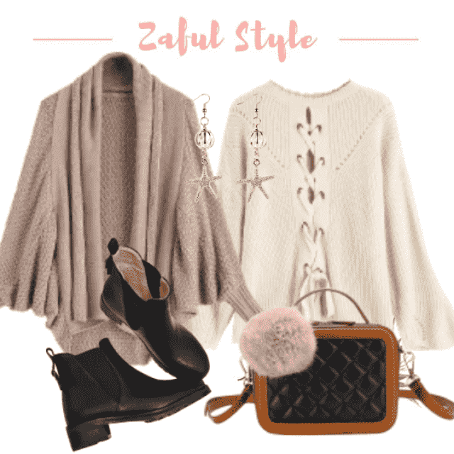Cardigan Sweater Bag Shoes Earring Nailart Trenchcoat Shoeslover