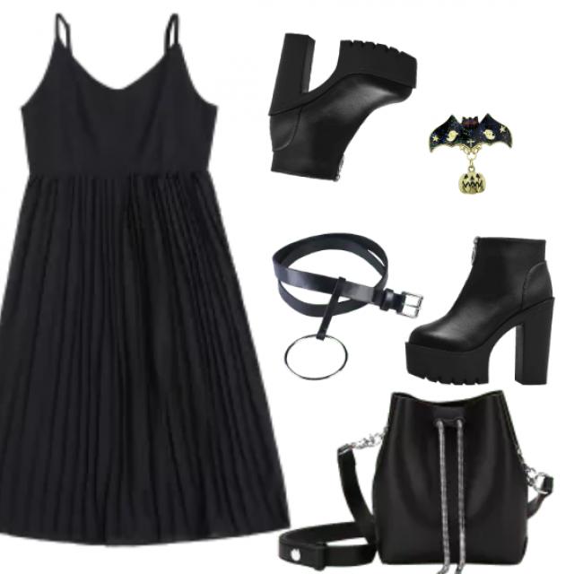 Goothic Look, Black