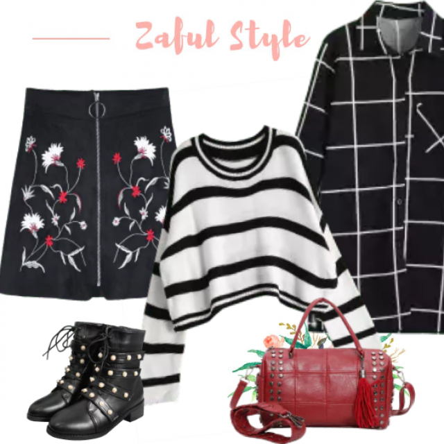 Gorgeous, trendy, youthful outfit. Perfect for spending time with a friends!