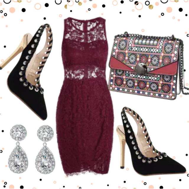 Fancy New Years Evening Outfit , Calssy Look , Elegant and Stylish Look