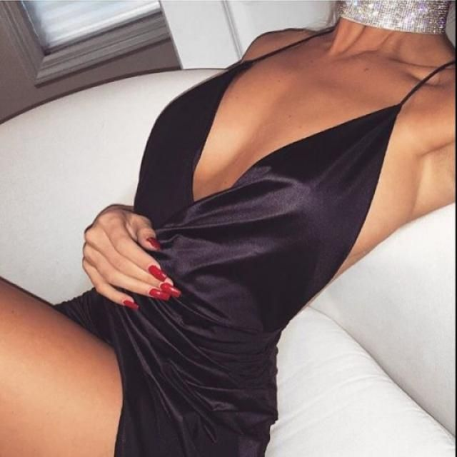 Perfect black party dress ;)
