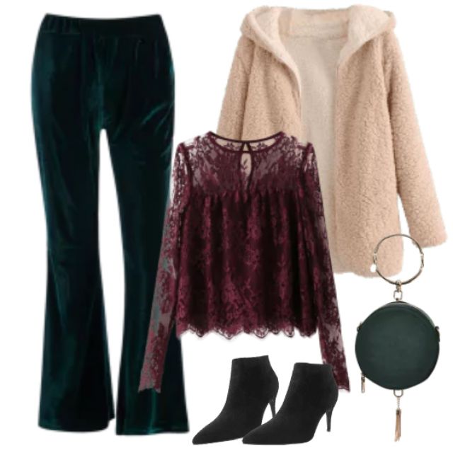 Wonderful styling for winter holidays...... Perfect for party at your work!