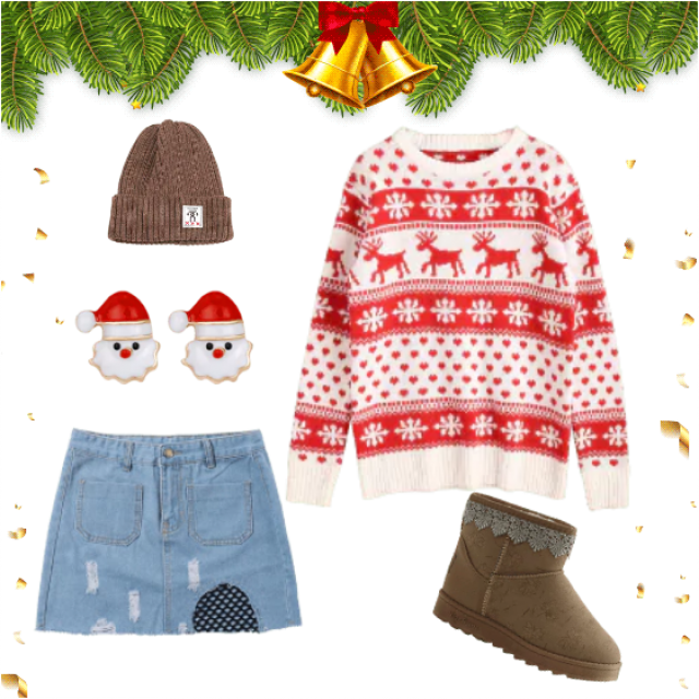 Casual Christmas outfit <3