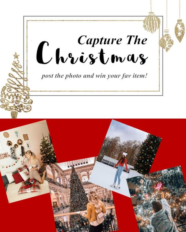 ❉❉ Capture the Christmas Vibe ❉❉