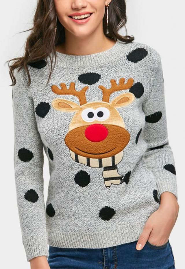 Christmas sweater is cool this year