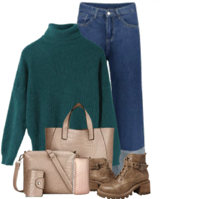 Trendy and beautiful sweater - perfect to wear with Jeans
