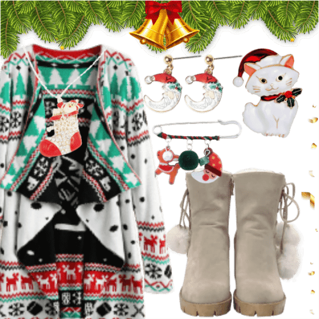 Cool Christmas Must-have Outfit , Funny Christmas Accessories