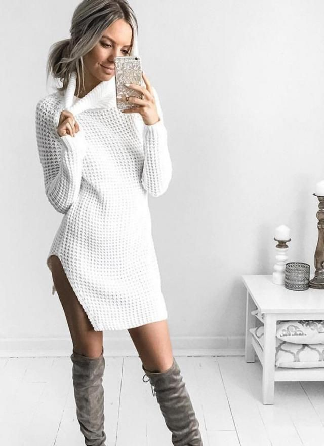 Nice dresses sweater in Zaful colection