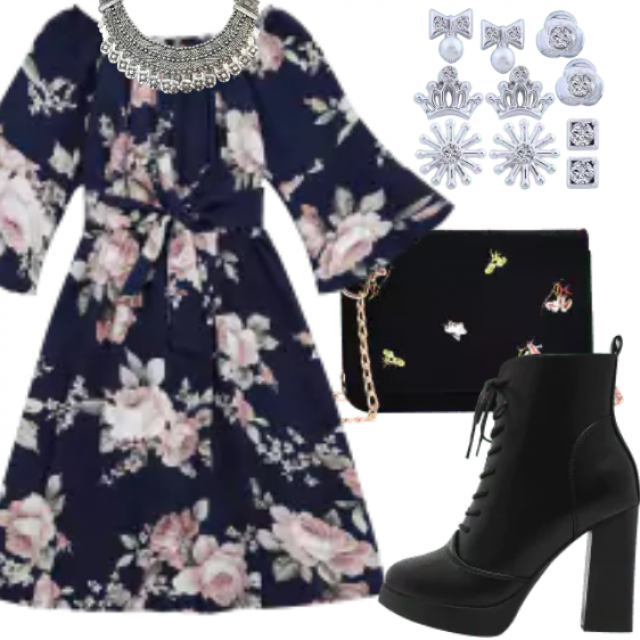 So stylish outfit for romantic and fashion girl. Be different with this combination. Great style only with ZAF…