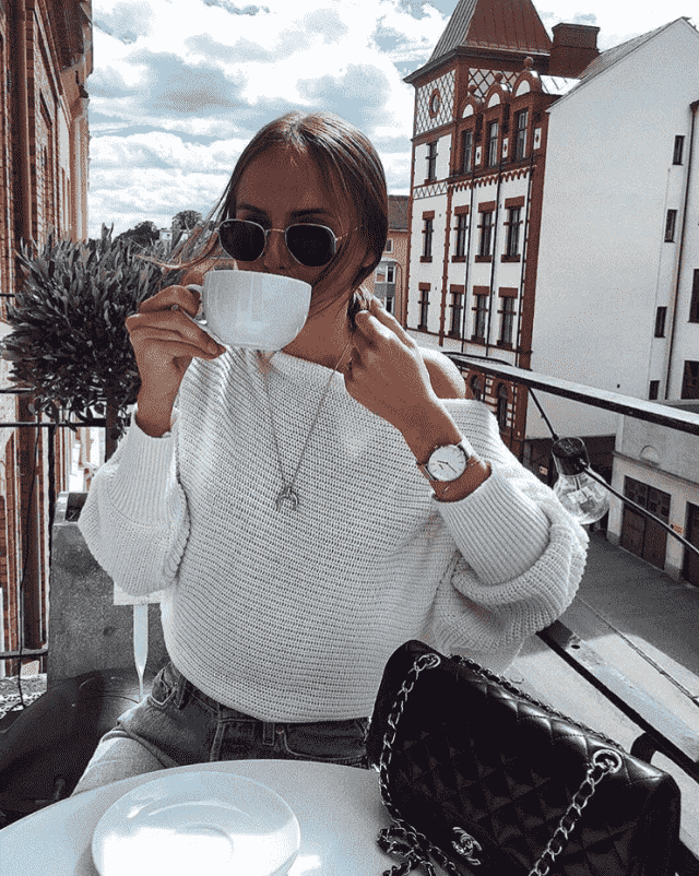 Watchs and sweater in Zaful