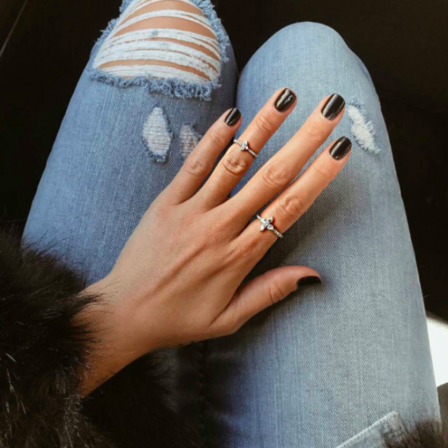 Cute midi-rings to accent any outfit.