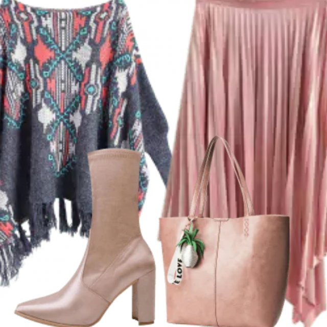 Feminine Soft Christmas Outfit Of The Day