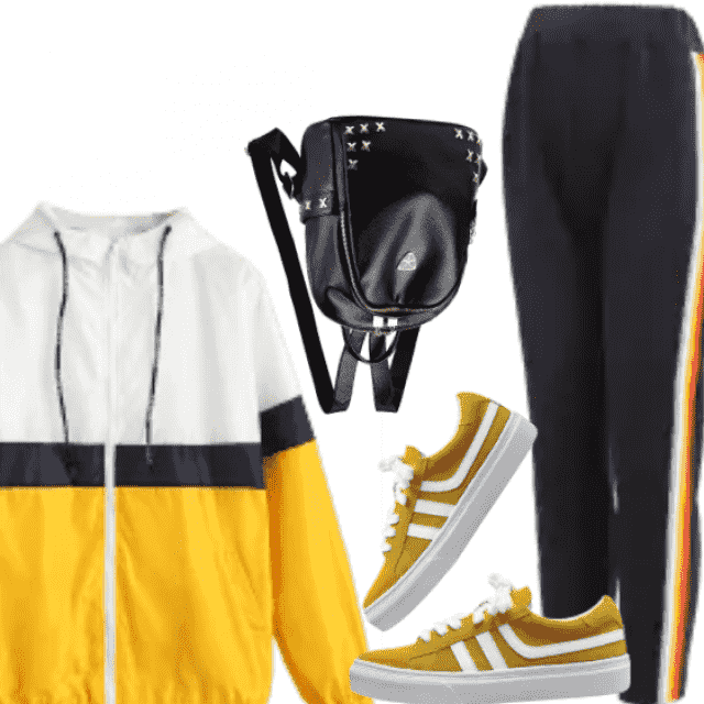 Sporty style for sport