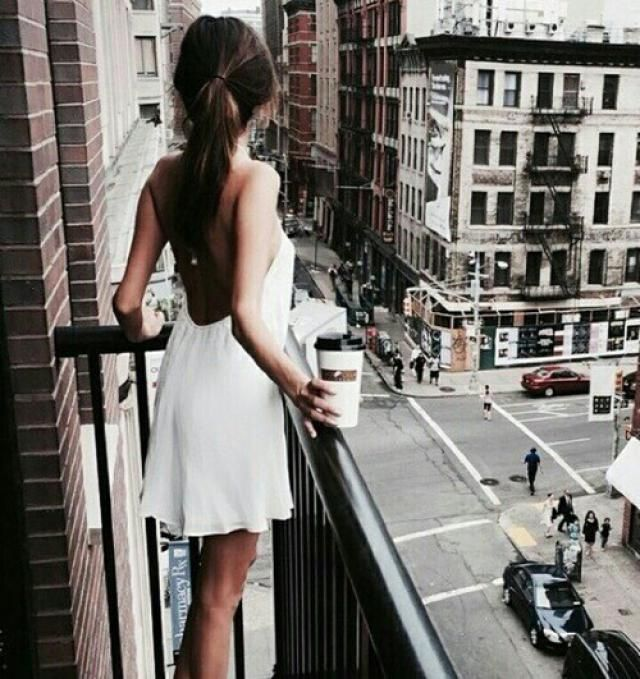 White dress is a must have for every girl!