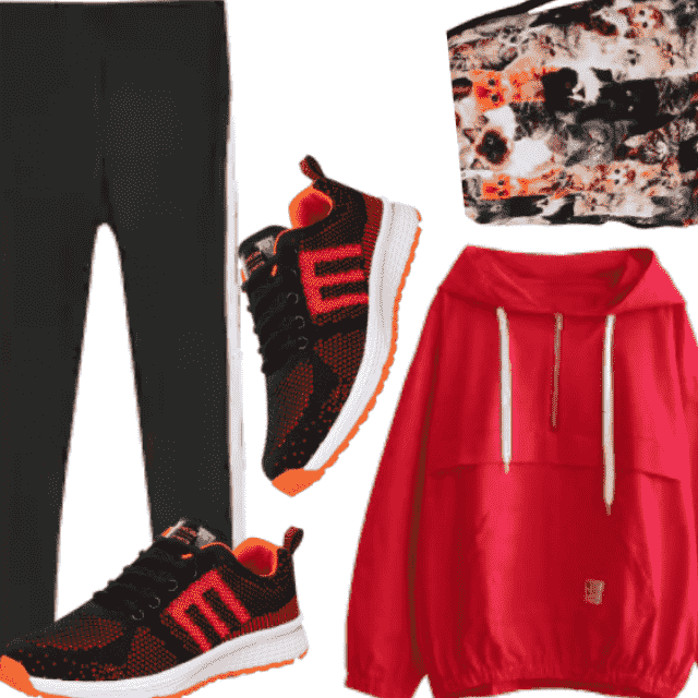 Cool Active Sport Wear , Fitness Look