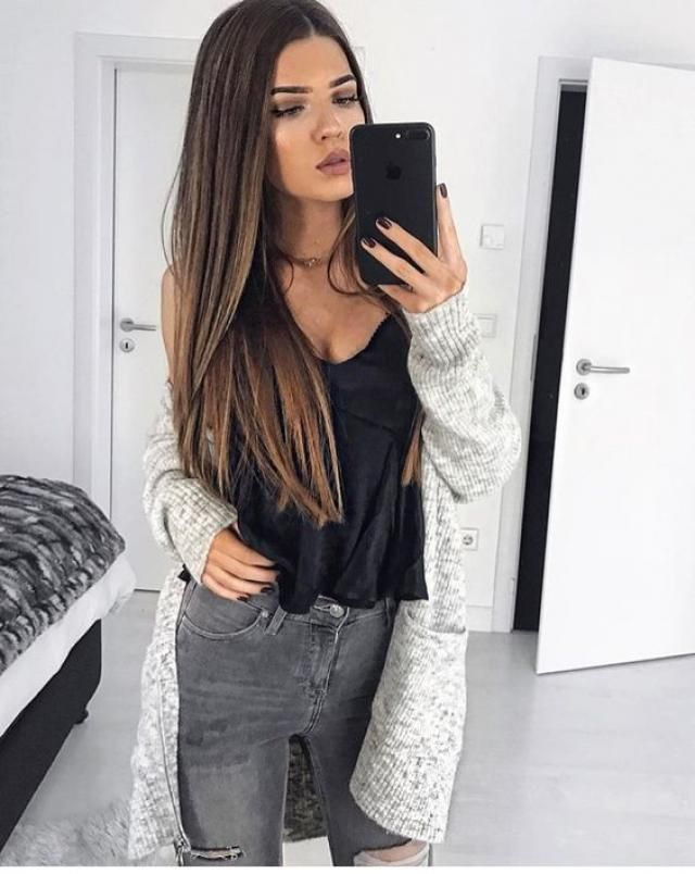 Gray denim is must have
