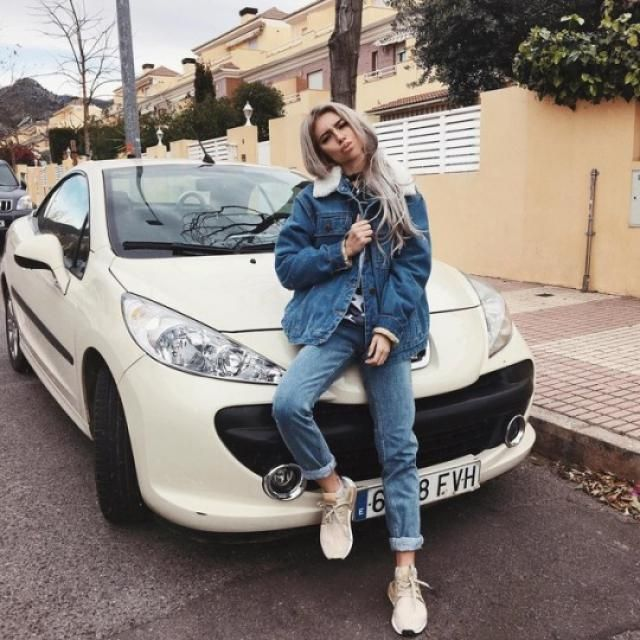 Thinking it's cute to pose infront of your own car, yay or nay?