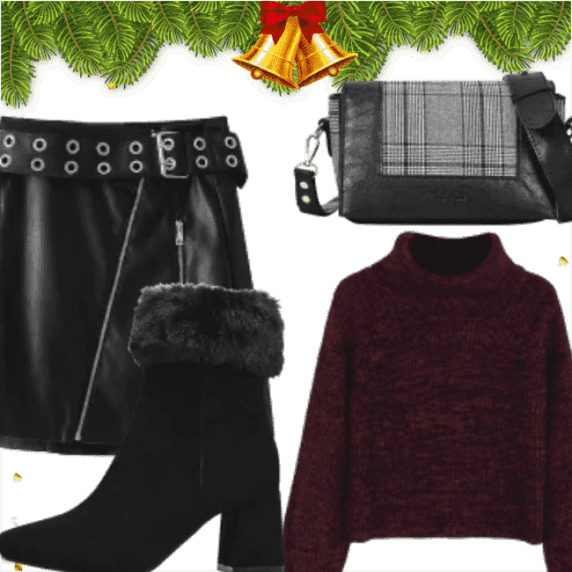 Winter Outdoor Holiday Outfit