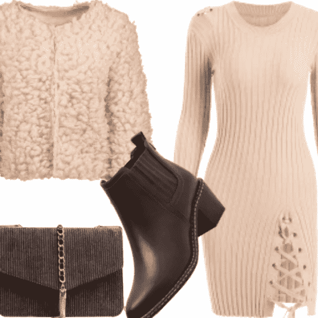 Winter Cozy Holiday Outfit