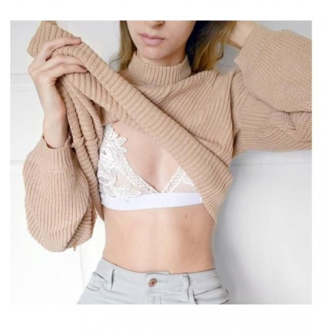 Can't have a cuter bra under your clothes than this one.