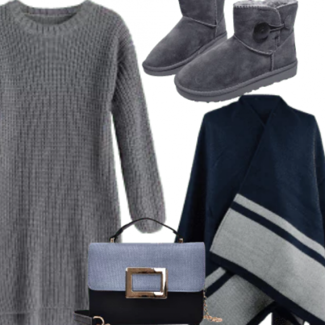 Winter Cazy And Chic Holiday Look , Winter Essential