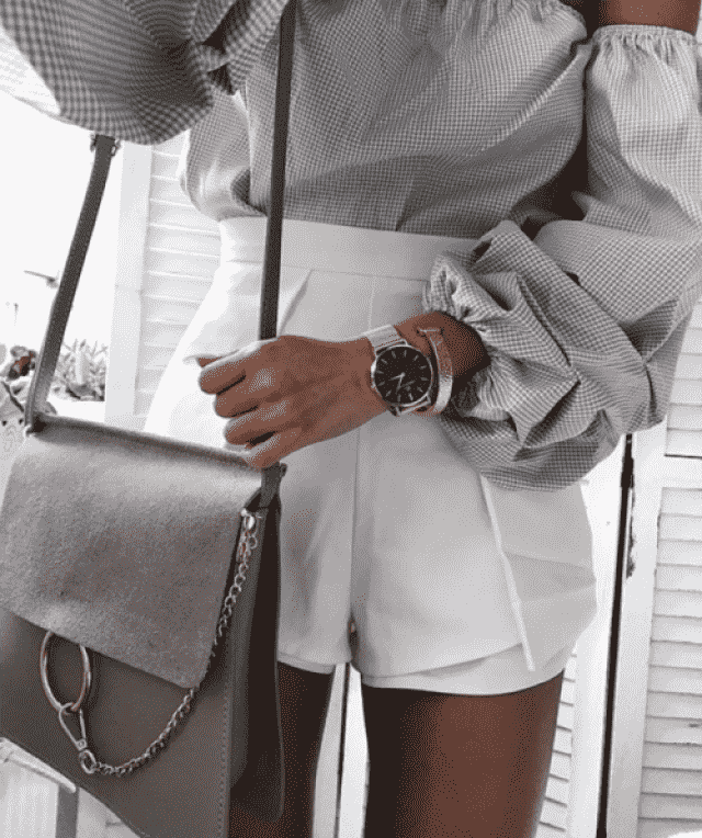 Shorts, bags and watches in Zaful`s colection