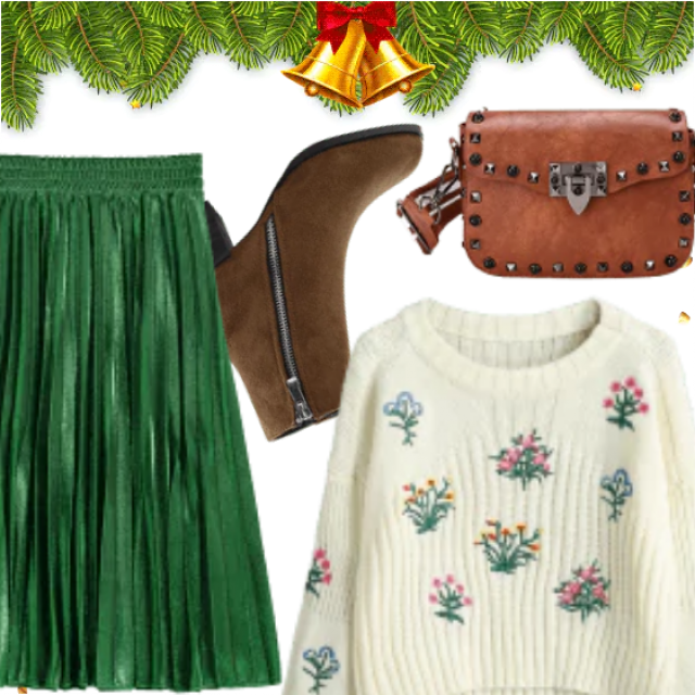 Christmas Holidays Cute Look With Zaful , Be Different Be Stylish