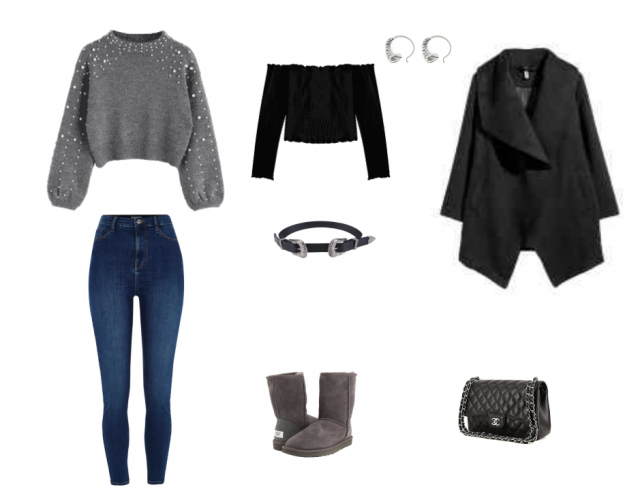 I'm in love with this sweater, don't you know how to fit? This is one of my ideas *.* This outfit is perfect for everyd…