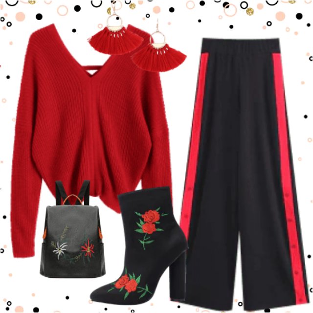 red color of elegance