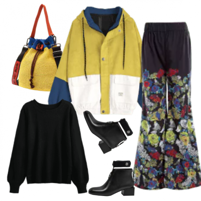 Trendy casual outfit which is great to wear in unstable weather conditions...... If it's dry - ok, if it's r…