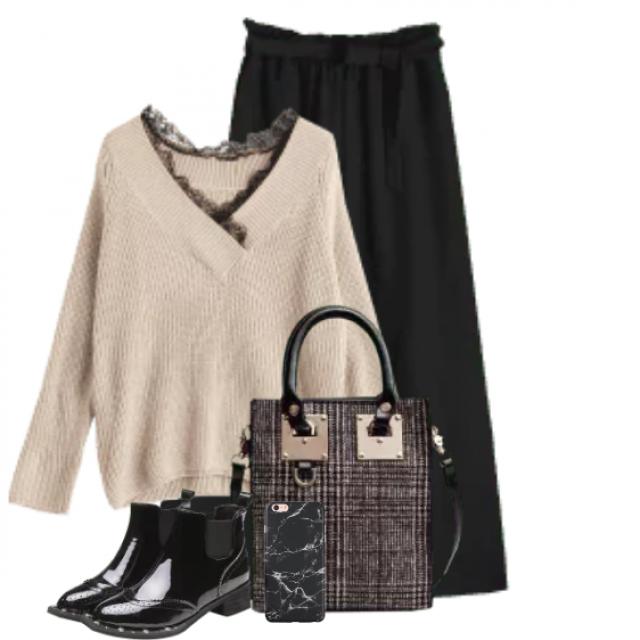Fabulous elegant black pants - chic style