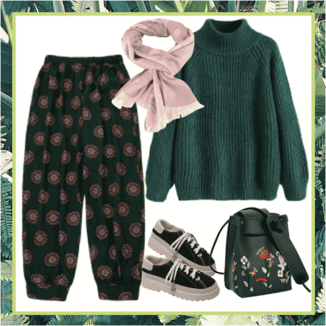 Comfy style for your free time! Gorgeous mix of different styles too!