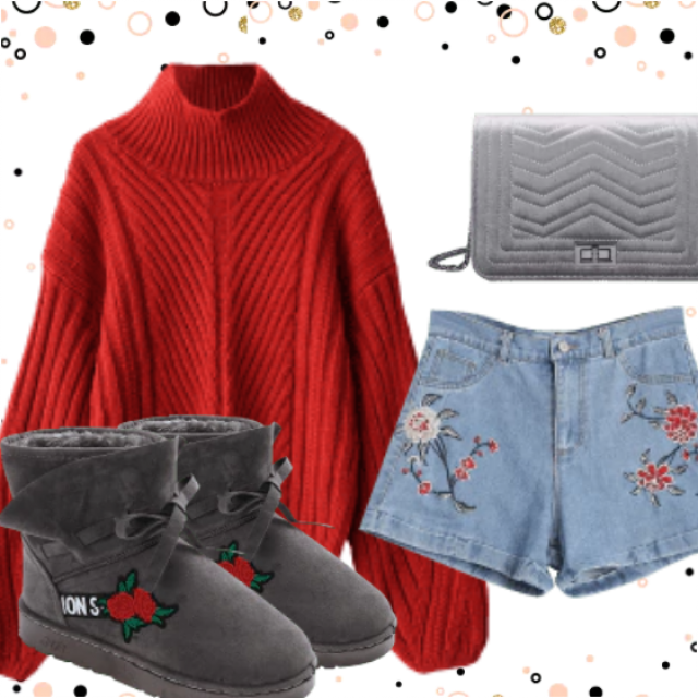 Shine On During the Holidays. Be different with this combination. Great style only with ZAFUL.  So stylish an…