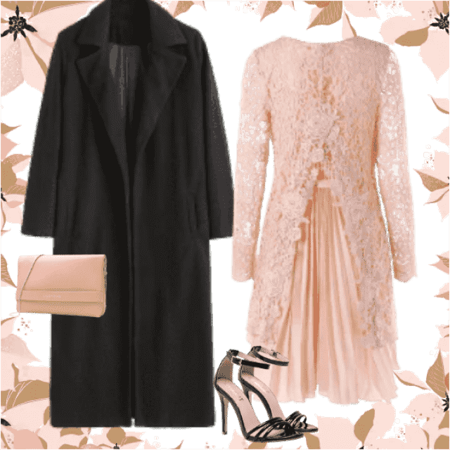 This combination can be great choice for New Year's Eve! What do you think?