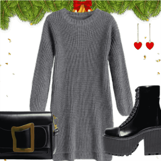 -dress     Shine On During the Holidays. Be different with this combination. Great style only with ZAFUL.  So st…