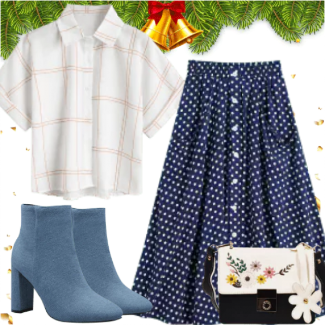 Shine On During the Holidays. Be different with this combination. Great style only with ZAFUL.  So stylish…