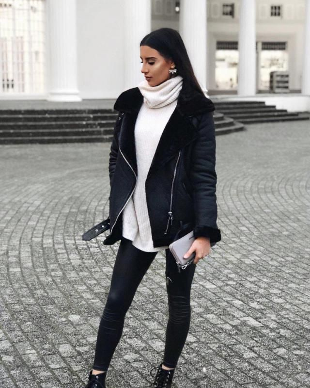 this street chic look is goals what do you think about it