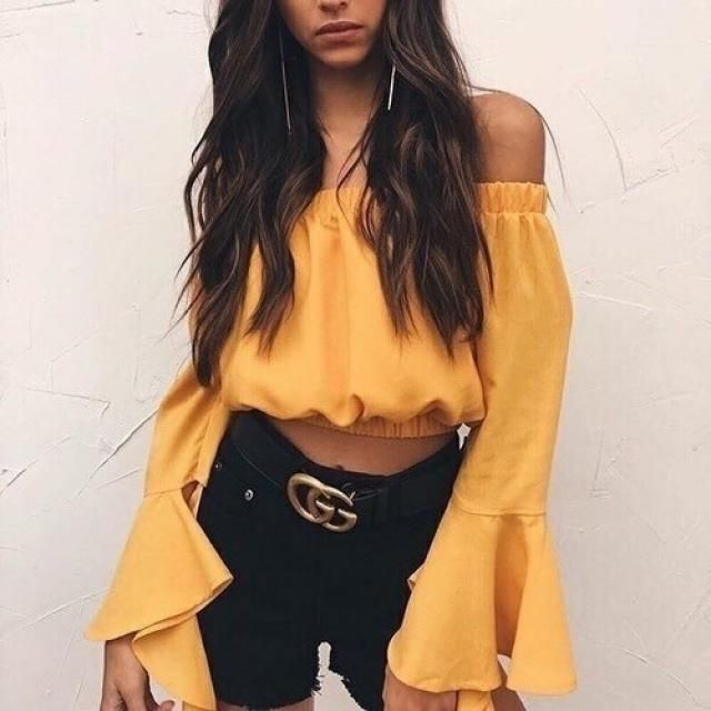 Yellow blouse for spring will be perfect, yay or nay?
