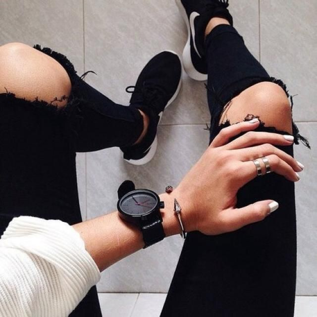 Black jeans is still a thing, yay or nay?