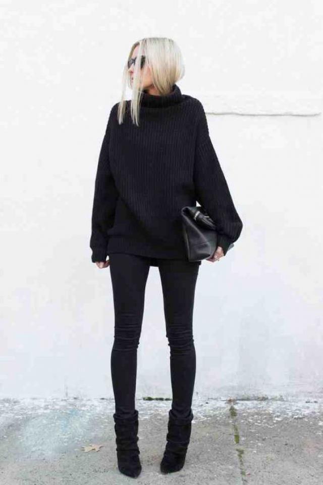 Black sweater!!