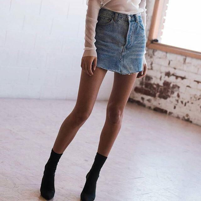What do you think about denim skirt?