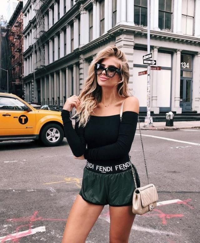 Look at how beautiful a black bodysuit looks, I love it because it is very comfortable and I can combine it with a jean…